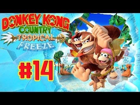 Donkey Kong Country : Tropical Freeze - Usine à Fruits Massacrante (Partie 14)