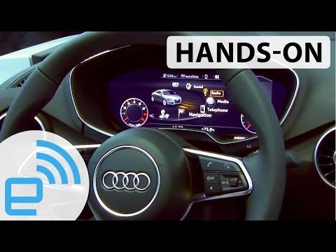Audi Dash hands-on at CES 2014 | Engadget