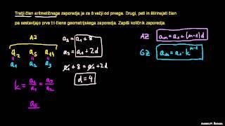 Geometrijsko zaporedje 7