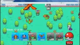Pokemon Tower Defense V4.2 Celadon Gym Challenge Level