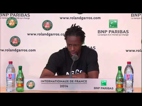 Roland Garros 2014 Saturday Interview Monfils