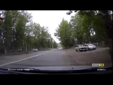 Наезд на пешехода, Омск (21.07.2015)