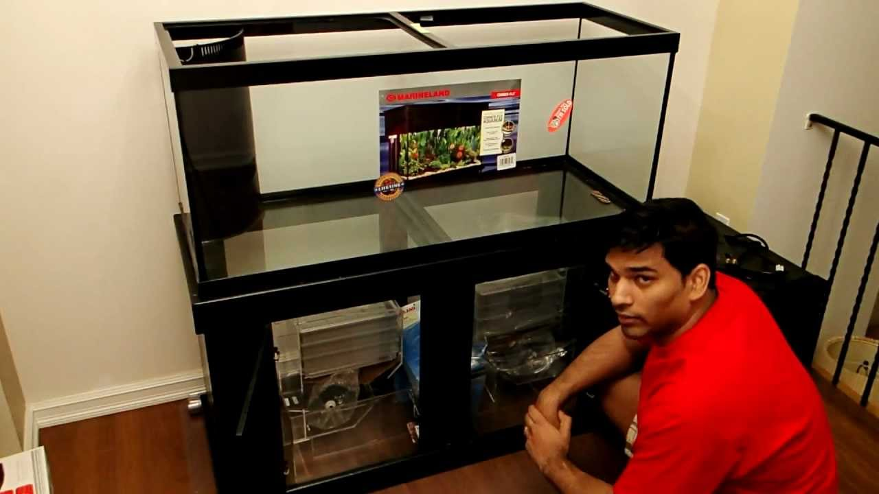 75 gallon aquarium drilled - 75 Gallon Corner Flo Pre ...