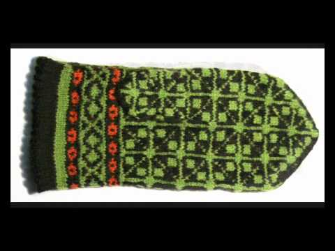 The Renaissance of Latvia's ethnographic mittens