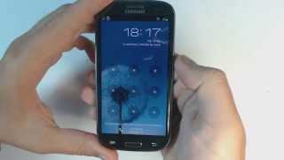 Samsung Galaxy S3 I9300 How To Reset Como Restablecer