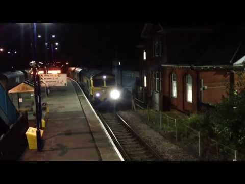 Barnetby Night Freight (Aug 2013) Classes 31/60/66/153/185