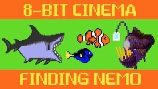 Finding Nemo 8 Bit Cinema!