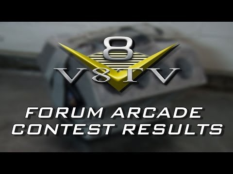 2014 V8TV Forum Arcade Contest Winner!