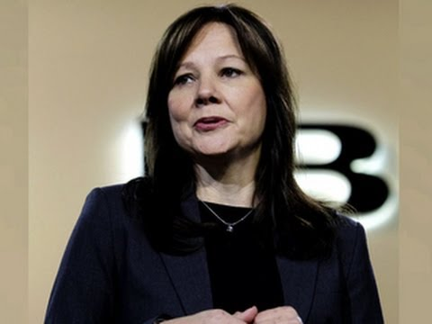 GM's Mary Barra becomes first female CEO of major car company