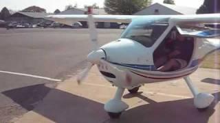 Flight Design CTSW Flight Johannesburg GFA South Africa (Flight Design Light Sport Aircraft)