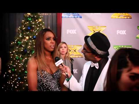 Murtz Jaffer Interviews The X Factor's Kelly Rowland At Finale