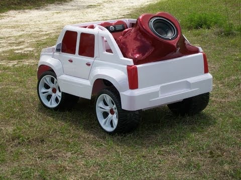 Vulgar Display Of Power Wheels Custom Heart Attack Escalade