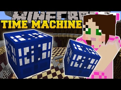 Minecraft: MOST INSANE LUCKY BLOCK EVER?!? (TIME MACHINE LUCKY BLOCK!) Mod Showcase
