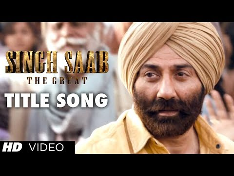Singh Saab the Great Title Video Song | Sunny Deol | Latest Bollywood Movie 2013