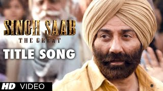 Singh Saab The Great Title Video Song Sunny Deol