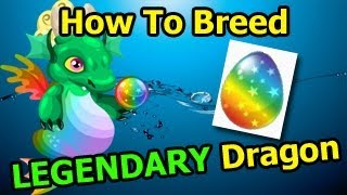 LEGENDARY DRAGON Dragon City How To Breed It With 2 Rare