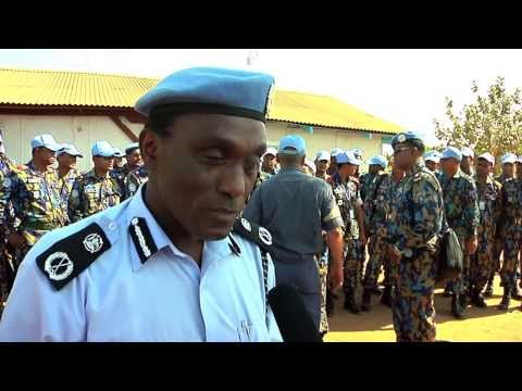 27122013 UNPOL REINFORCEMENTS ARRIVE IN SOUTH SUDAN