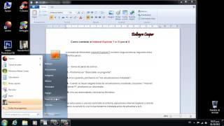 Como Quitar El Internet Explorer 9/10 Y Poner El 8