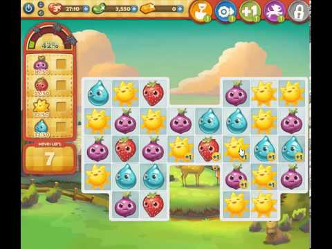 How to beat Farm Heroes Saga Level 103 - 1 Stars - No Boosters - 109%