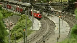Modellbahn Trainspotting am Hauptbahnhof Dürnstein