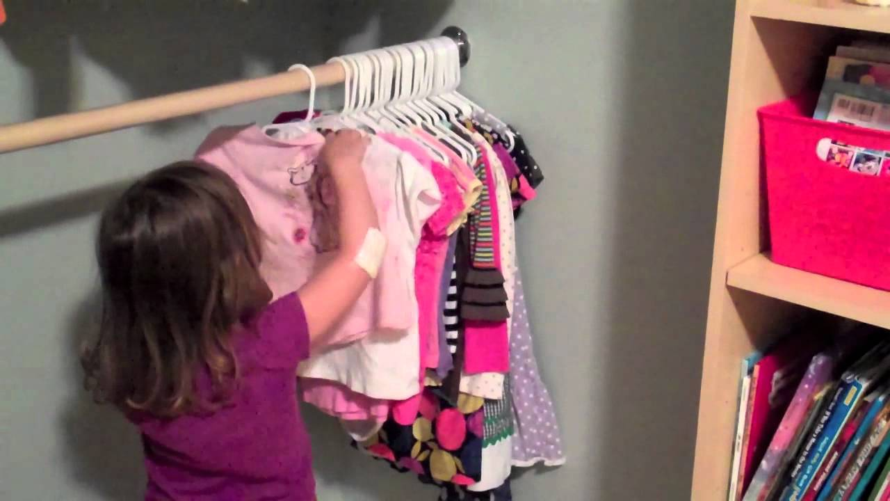teach your child to hang up clothes tips youtube