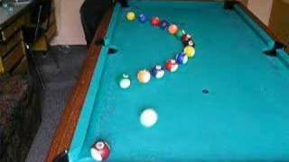 Artistic Pool Trick Shots..