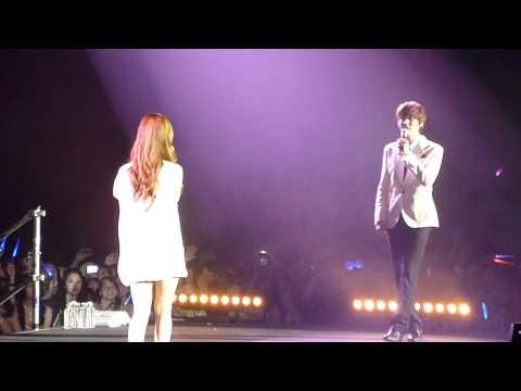 [110611 fancam] HD SMTOWN in Paris - Kyuhyun & Seohyun - Way Back into Love (END)