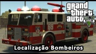 GTA V Localização Dos Bombeiros Missão FBI GTA 5