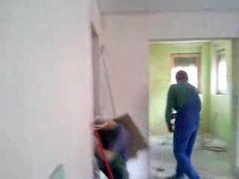 wypadek na budowie