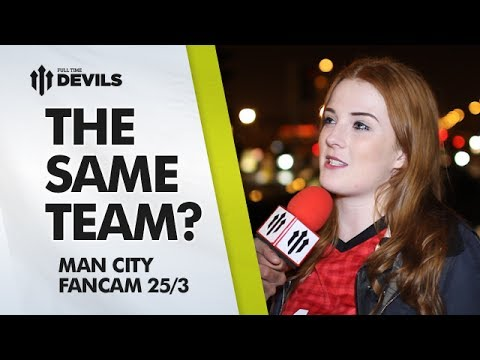 The Same Team? | Manchester United 0-3 Manchester City | FAN CAM