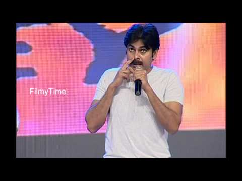 Pavankalyan about Nithin in Rey Audio Function