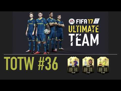 FIFA 17 ULTIMATE TEAM FUT TOTW 36 PREDICTIONS TRADING - MESSI - AGUERO - REUS (English)