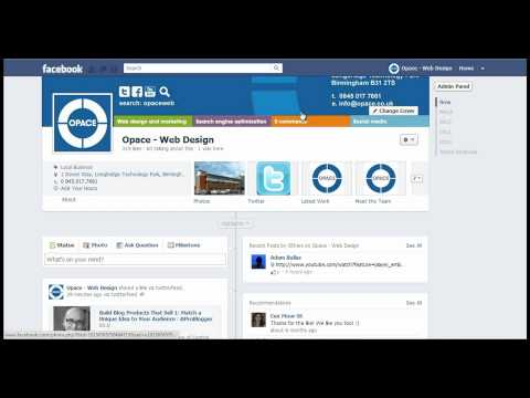 Facebook Timeline Changes for Fan Pages (Business Pages) - Update 2012!!