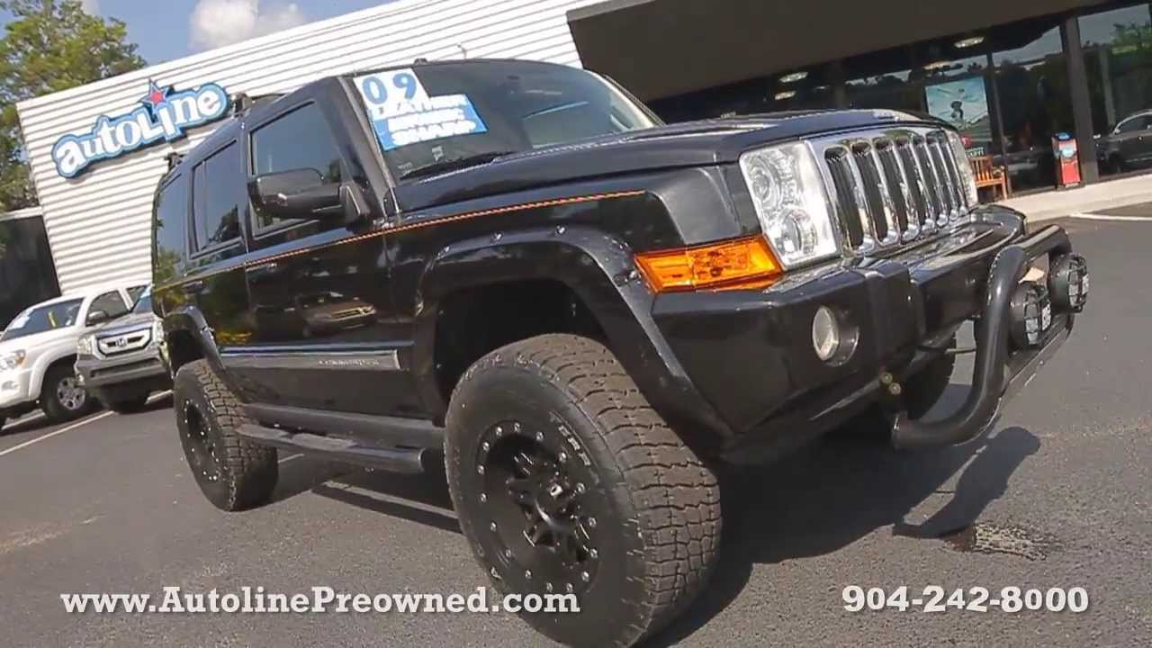 Autoline Preowned 2009 Jeep mander Limited For Sale