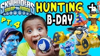 Skylanders Swap Force Hunting: Mike's Legendary Birthday
