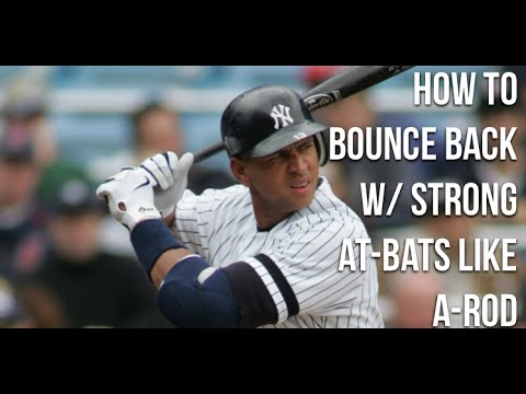 How To Come Back Strong Like A-Rod: The Alex Rodriguez Hitting Approach