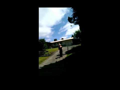 Jean Kasem Hamburger throw