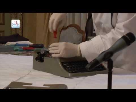 Operazione macchina da scrivere
