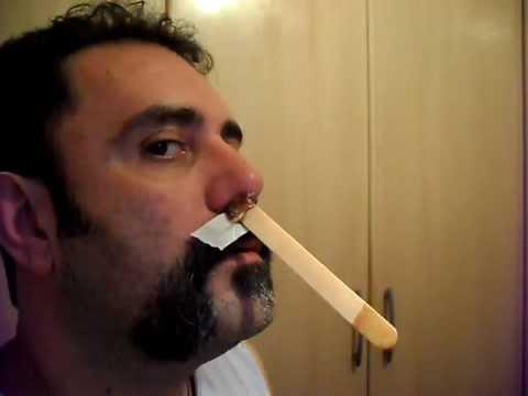 Cera para depilar nariz