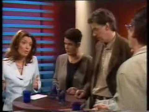 Jan Milld i debatt om mångkultur + invandring i Mosaik 1997