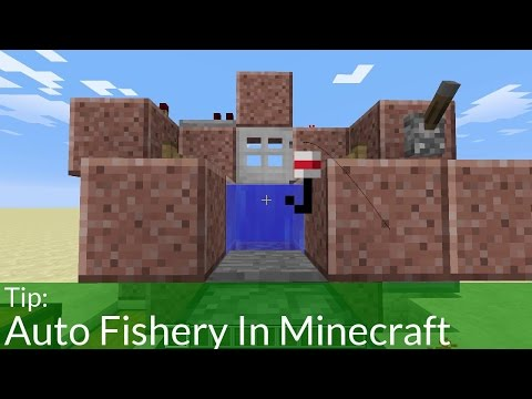 Tip: Auto Fishery In Minecraft