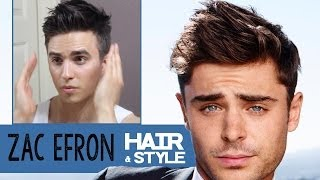 Zac Efron Hairstyle 2014 How To Dress Dre Drexler