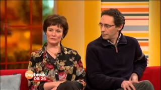 Holby City's Guy Henry & Catherine Russell on Daybreak - 30 October 2012 view on youtube.com tube online.
