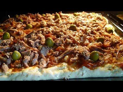 Pizza tunisienne recette tunisienne youtube - La cuisine juive tunisienne ...