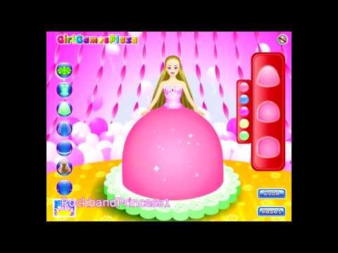 Barbie Cake Decorations Game - Barbie Cake Decorating Games Online