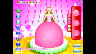 Barbie Cake Decorations Game Barbie Cake Decorating