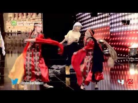 Arabs Got Talent - تجارب الأداء - الكوفية الفلسطينية