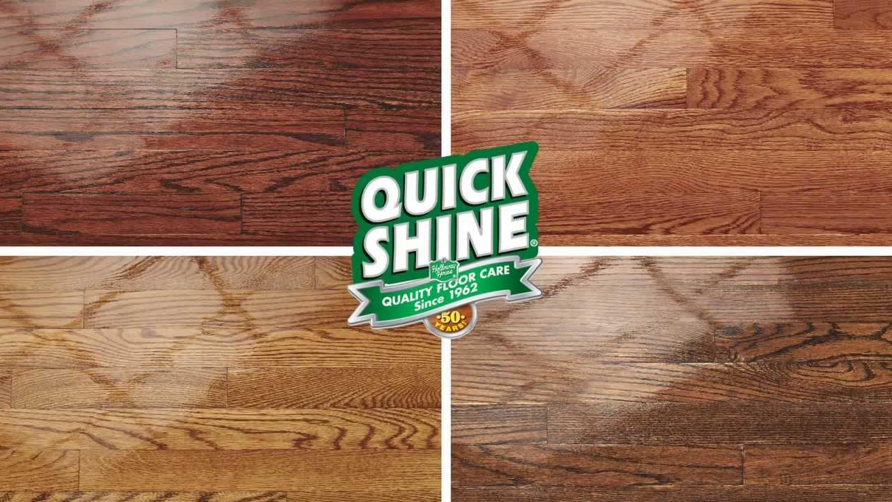 Quick Shine Hardwood Floor Luster Youtube