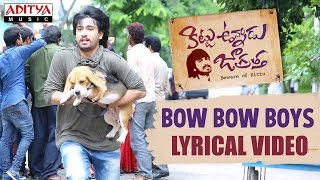 Bow Bow Boys Song With English Lyrics | Kittu Unnadu Jagratha