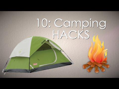 10: Camping Hacks